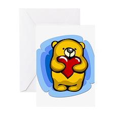 Beary Love Greeting Card