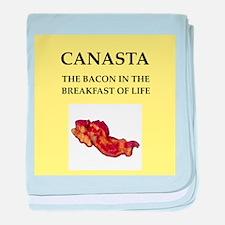 canasta baby blanket