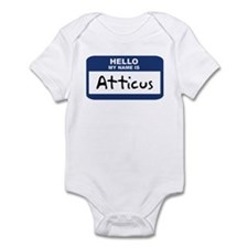 Hello: Atticus Infant Bodysuit