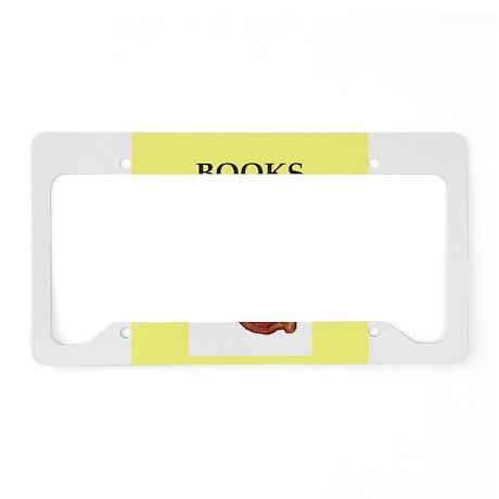 books License Plate Holder