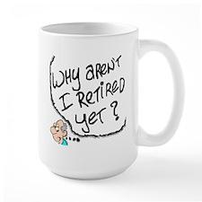 Retirement Dream Over the Hill Mug