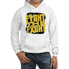 Fight The Fight Childhood Cancer Hoodie