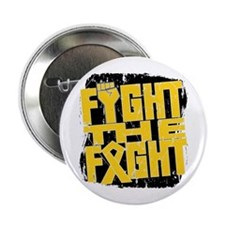 "Fight The Fight Childhood Cancer 2.25"" Button"