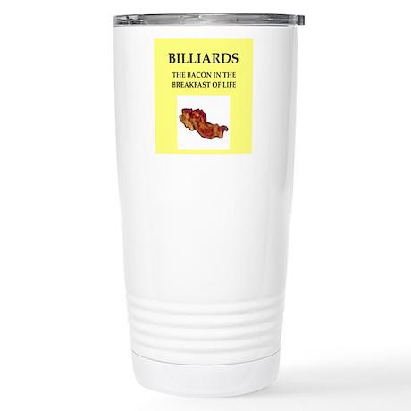 billiards Travel Mug