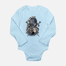 This is War Long Sleeve Infant Bodysuit