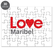 I Love Maribel Puzzle