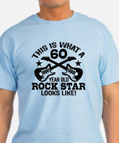 60 Year Old Rock Star T-Shirt