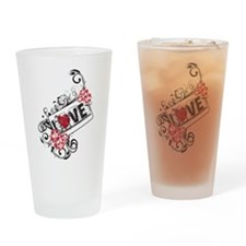 California Love Drinking Glass