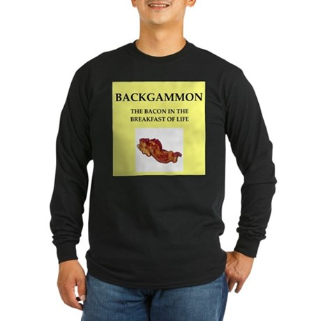 backgammon Long Sleeve T-Shirt