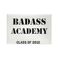 Badass Academy Lite Rectangle Magnet