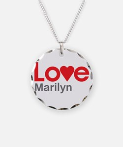 I Love Marilyn Necklace