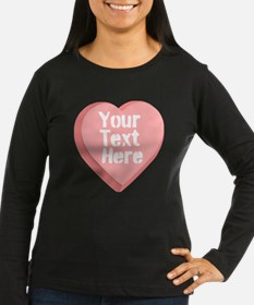 Candy Heart Long Sleeve T-Shirt