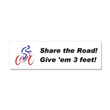 Share the Road! Car Magnet 10 x 3