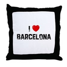 I * Barcelona Throw Pillow