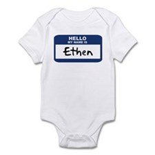 Hello: Ethen Infant Bodysuit