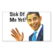 Sick of Obama? Bumper Stickers