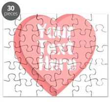 Candy Heart Puzzle