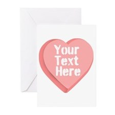 Candy Heart Greeting Cards (Pk of 20)