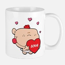 Adorable Red Haired Cupid Mug
