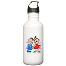 Adorable Hand Holding Hands Water Bottle
