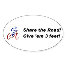 Share the Road! Decal