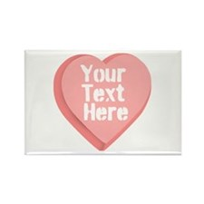 Candy Heart Rectangle Magnet