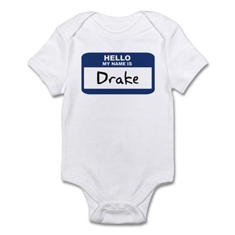 Hello: Drake Infant Bodysuit