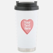 Candy Heart Travel Mug