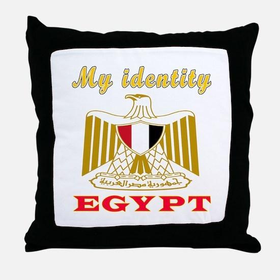 My Identity Egypt Throw Pillow