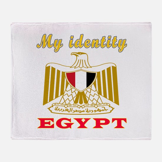 My Identity Egypt Throw Blanket