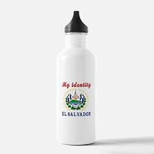 My Identity El Salvador Water Bottle