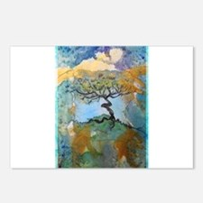 tree ! tree of life, art! Postcards (Package of 8)