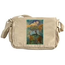 tree ! tree of life, art! Messenger Bag