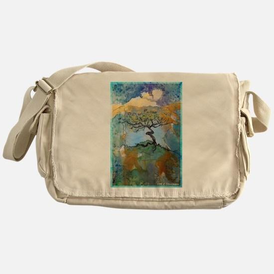 tree ! tree of life, art! Messenger Bag