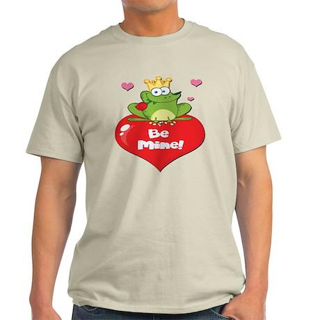 Adorable Be Mine Frog Prince Light T-Shirt