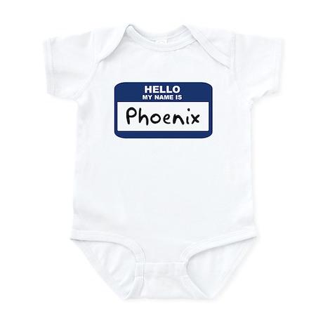 Hello: Phoenix Infant Bodysuit