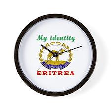 My Identity Eritrea Wall Clock