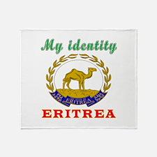 My Identity Eritrea Throw Blanket