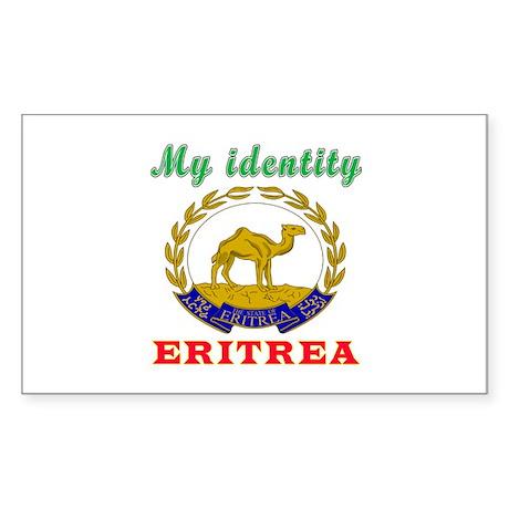 My Identity Eritrea Sticker (Rectangle)