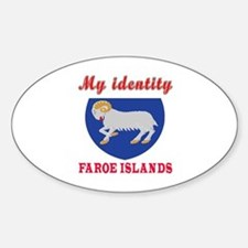 My Identity Faroe Islands Decal