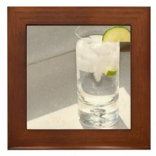 vodka soda Framed Tile
