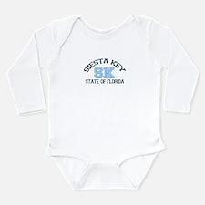 Siesta Key - Varsity Design. Long Sleeve Infant Bo