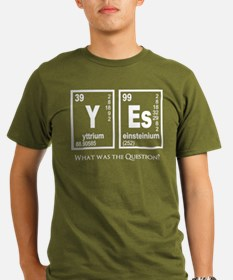 Yes Elements Question? T-Shirt