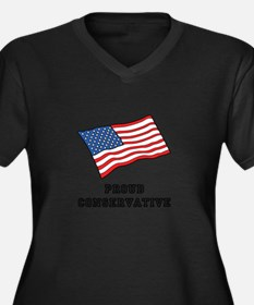 Proud Conservative Plus Size T-Shirt