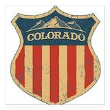 Colorado Square Car Magnets
