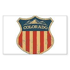 Colorado Shield Bumper Stickers