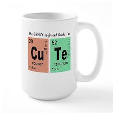 My Geeky Boyfriend Cute Elements Mug