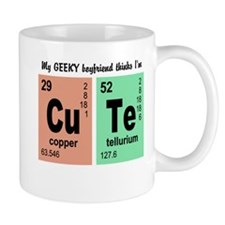 My Geeky Boyfriend Cute Elements Mug