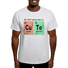 My Geeky Boyfriend Cute Elements T-Shirt