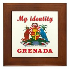 My Identity Grenada Framed Tile